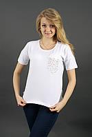 Модная однотонная женская футболка с пуговицами на спинке