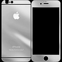Защитное стекло 9H 0.18mm iPhone 4. 4S 2 стороны Silver
