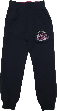 Спортивные штаны детские на девочку Wanhill тёмно-синие размер 92 98 104 , фото 2