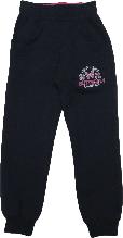Спортивные штаны детские на девочку Wanhill тёмно-синие размер 92 98