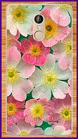 Чехол на телефон Leagoo M5 с рисунком цветов в росе