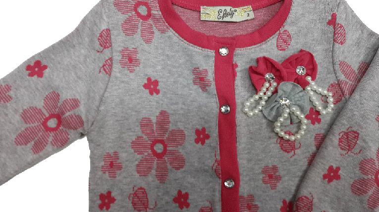 Кофта для девочки на кнопках размер 92, фото 2