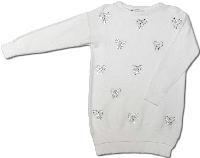 Кофта для девочки Nice Wear белая нарядная размер 140