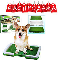Лоток для собак Puppy Potty Pad . РАСПРОДАЖА