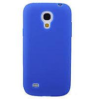 Cиликоновый чехол Samsung i9190 синий