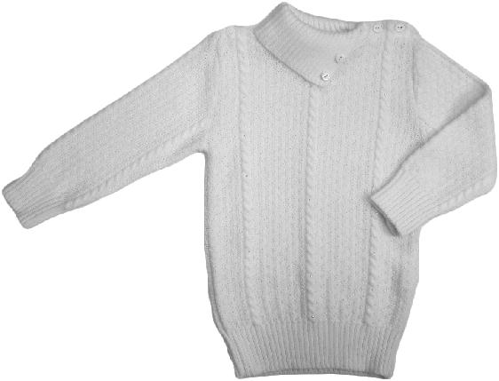 Свитер гольф для девочки Дайс ( Арт. 07213006 ) молочный размер 98 , фото 2