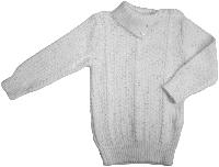 Свитер гольф для девочки Дайс ( Арт. 07213006 ) белый размер 98