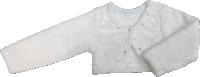 Кофта болеро Lotex белая размеры 110 116