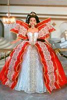 Кукла Барби Коллекционная Холидей 1997 Happy Holidays Barbie Doll Special Edition (1997)