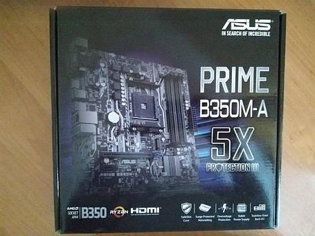 Материнская плата Asus Prime B350M-A, фото 2