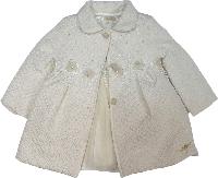Пальто стеганое и платье нарядное ТМ Bebyrose размер 80-86