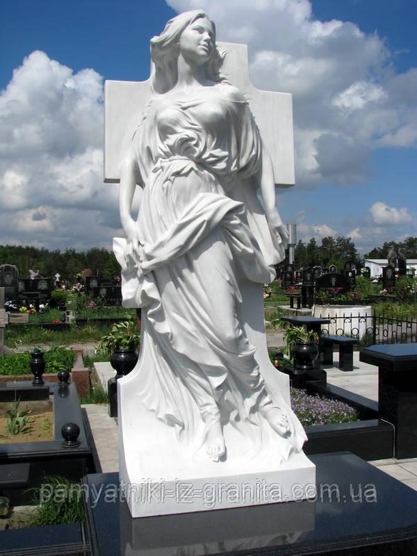 Скульптура девушки из мрамора № 18