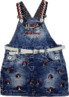Детский сарафан джинсовый Mini maus голубой размер 92 98