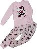 Пижама для девочки с начесом ТМ Бемби ПЖ42 розовая размер 128