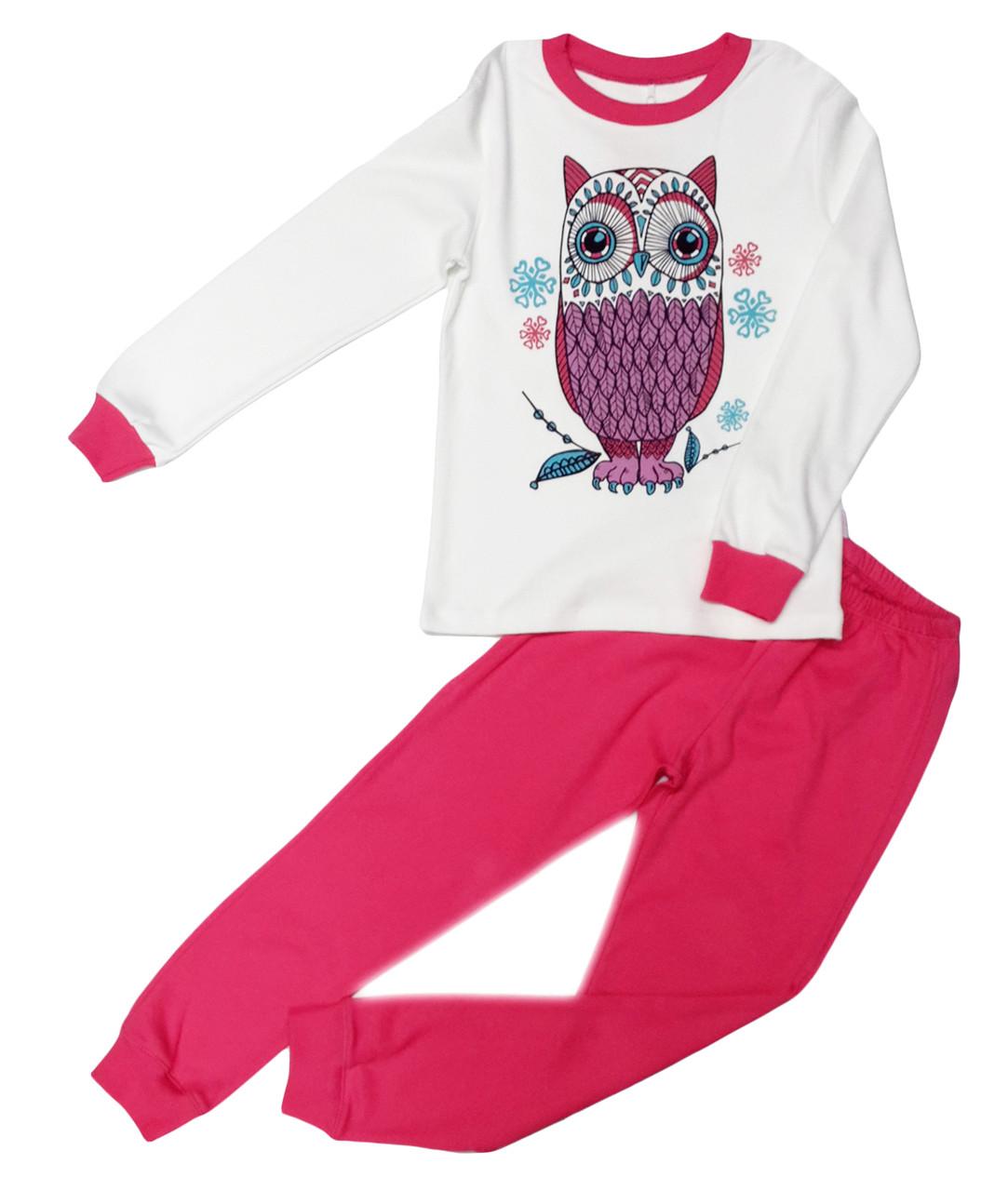 Пижама для девочки ТМ Бемби ПЖ39 розовая размер 134 - Рожевий Слон - детская одежда от 0 до 15 лет в Киеве