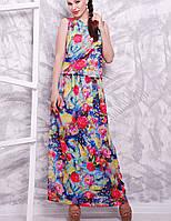 Женское летнее платье в пол (1603 mrs)