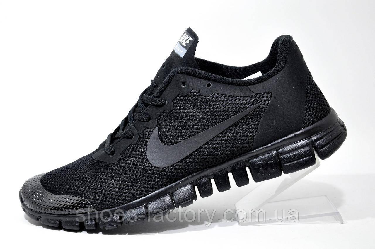 Кроссовки мужские в стиле Nike Free Run 3.0 V2, Black