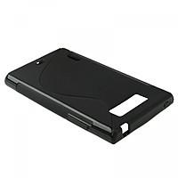 Cиликоновый чехол LG L7 P705 черный