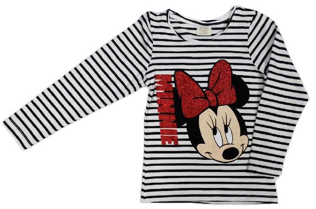 Кофта реглан детский Minnie Mouse MG&T Kids на девочку размер 116, фото 2