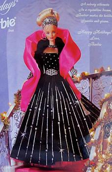 Лялька Барбі Колекційна Холідей 1998