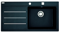 FRANKE MTF 611-100 Кухонная мойка 1000х515х190мм, правая, оникс  (114.0157.287)