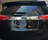 Toyota RAV4 Mk4 2013+ накладка хром на крышку багажника ABS