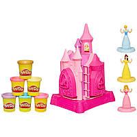 Play-Doh Игровой набор Замок принцесс с пластилином Disney Princess Prettiest Princess Castle Set