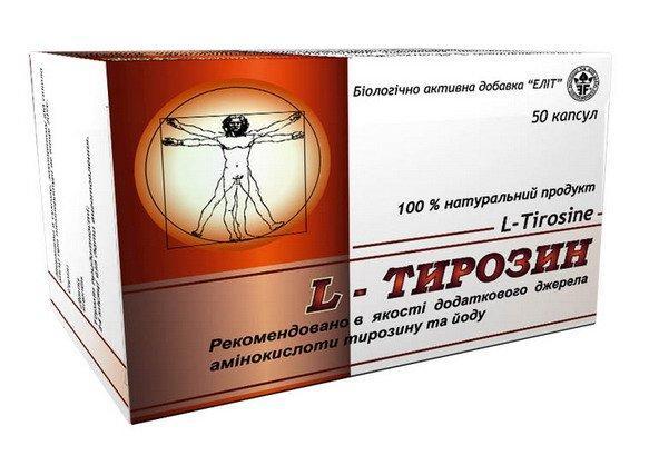 L – Тирозин  (Элит-Фарм) 50 капс.
