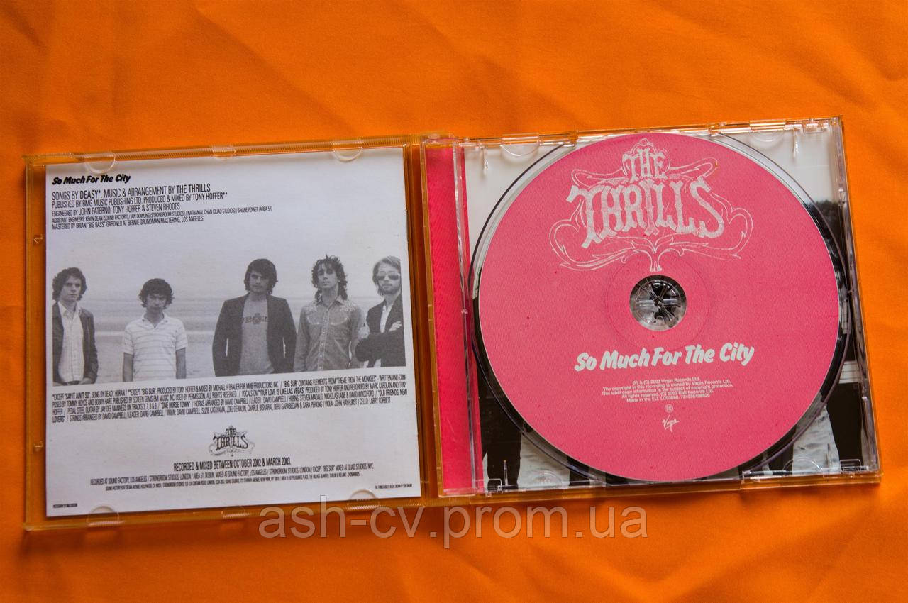 Музыкальный CD диск  THE THRILLS - So Much For The City