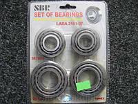 Подшипники ступици ВАЗ 2101 (SBR 7804/7805) 4шт