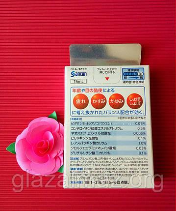 Sante de U alfa капли, предотвращающие заболевания глаз, питая витамином B12, фото 2