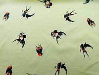 Ткань Птицы 150х150мм
