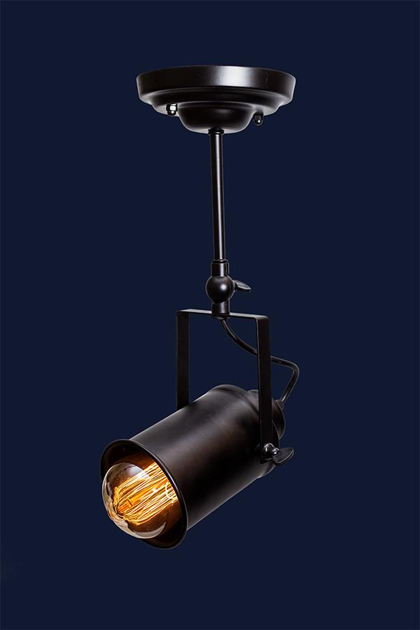 Подвесной светильник LOFT L521207A-1 BK 90мм