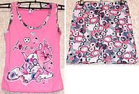 Пижама качественная Турция 100% хлопок размер M(42-44),L(44-46)