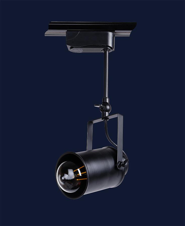 Трековый светильник LOFT L521207B-1 BK 100мм