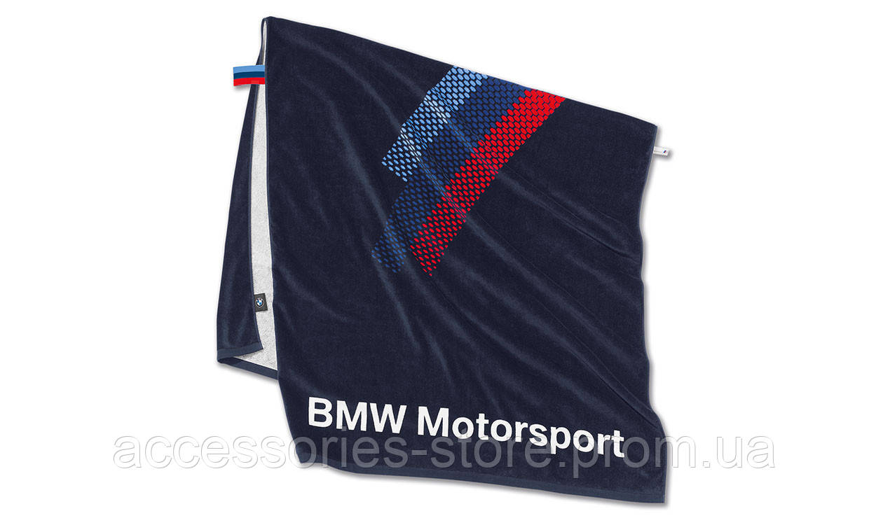 Банное полотенце BMW Motorsport Towel, Team Blue