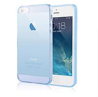 Cиликоновый чехол 0.3mm Samsung J5 синий