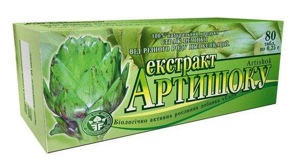 Экстракт Артишока (Элит-Фарм) 80 табл.