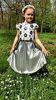 Праздничное платье девочке. Размер 8 лет.