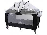 Кроватка для путешествий Clamaro 304 Черный