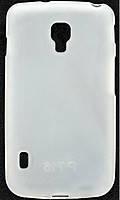 Cиликоновый чехол LG L7 II P715 белый