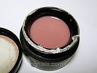Гель UK NAIL PROFESSIONAL бежево-розовый камуфлирующий,56 гр, фото 1
