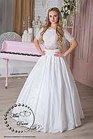 Свадебное платье кроп-топ+юбка, фото 1