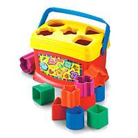 Сортер Фишер Прайс Первые кубики малыша Fisher Price К7167