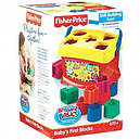 Сортер Фишер Прайс Первые кубики малыша Fisher Price К7167, фото 2