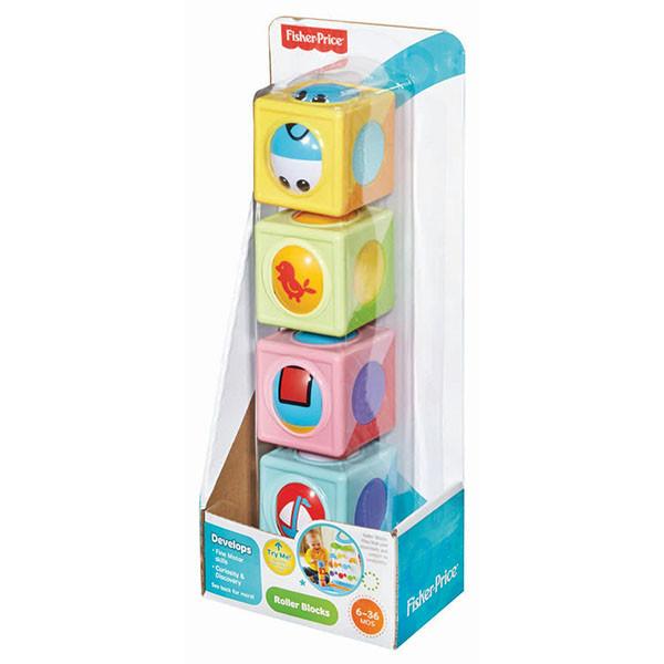 Кубики детские Чудо Фишер Прайс Fisher Price CBL33, фото 1