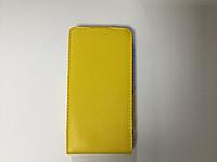 Книжка Lenovo A1900 A2800 желтая