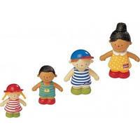 Фигурки веселые друзья: Иван, Джулия, Майкл и Барбара K's Kids 10324, фото 1
