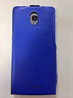 Чехол-книжка Техникс Lenovo S668t синий
