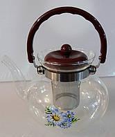 Чайник-заварник 9461, стекло, V= 1300 мл.